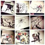 Inktober Instagram I