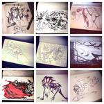 Inktober Instagram II