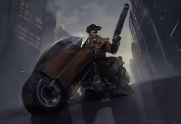 Biker by Mr--Jack