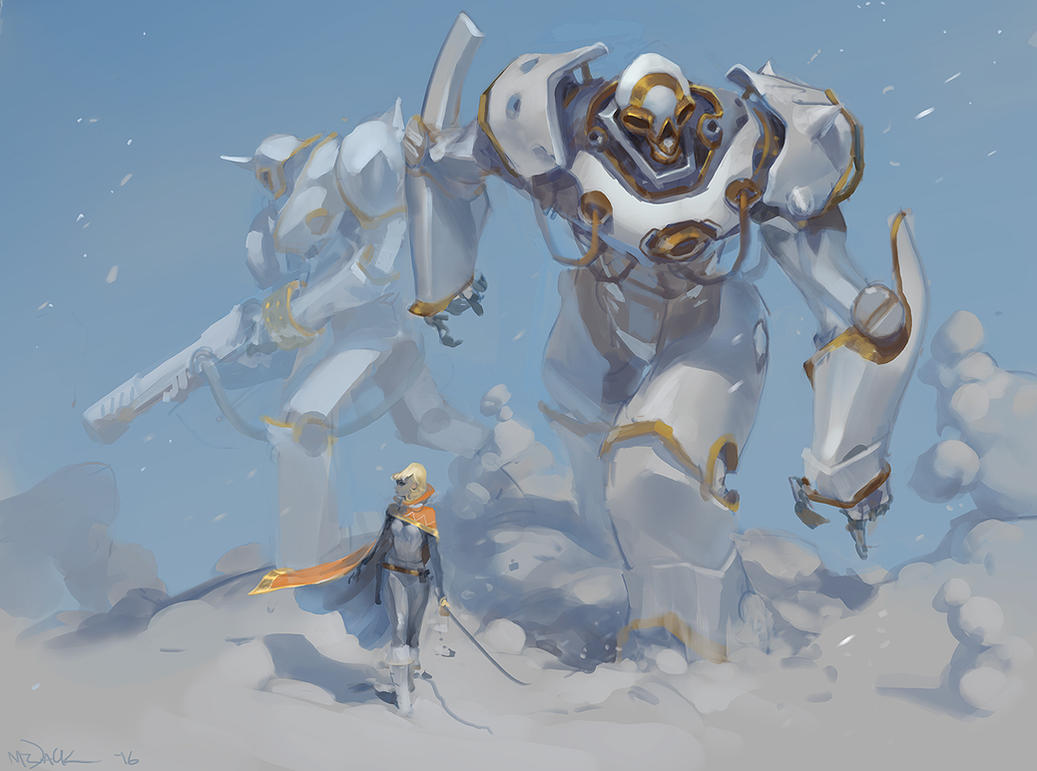Snow Stroll by Mr--Jack