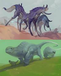 Alien Streamers