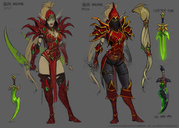 Valeera Sanguinar by Mr--Jack