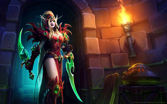 Valeera Sanguinar, Shadow of the Uncrowned