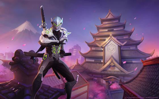 Genji, Cybernetic Ninja by Mr--Jack