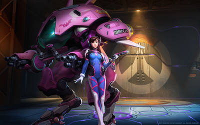 D.Va, Meka Pilot by Mr--Jack