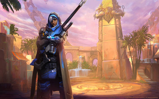 Ana, Veteran Sniper by Mr--Jack