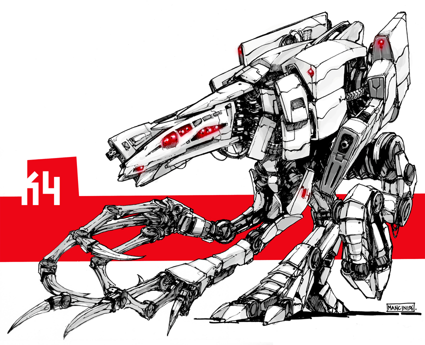 Chicken? Mech by Mr--Jack