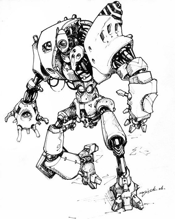 Odd Mech by Mr--Jack