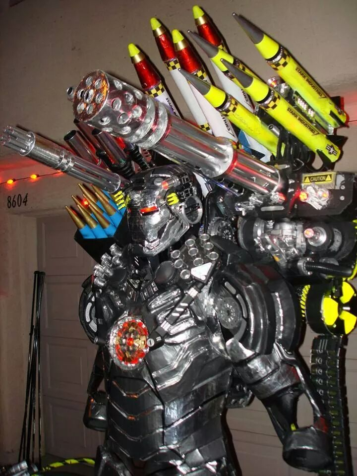 war machine costumes for