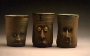 Face cups v1.set.001 by PCStudio
