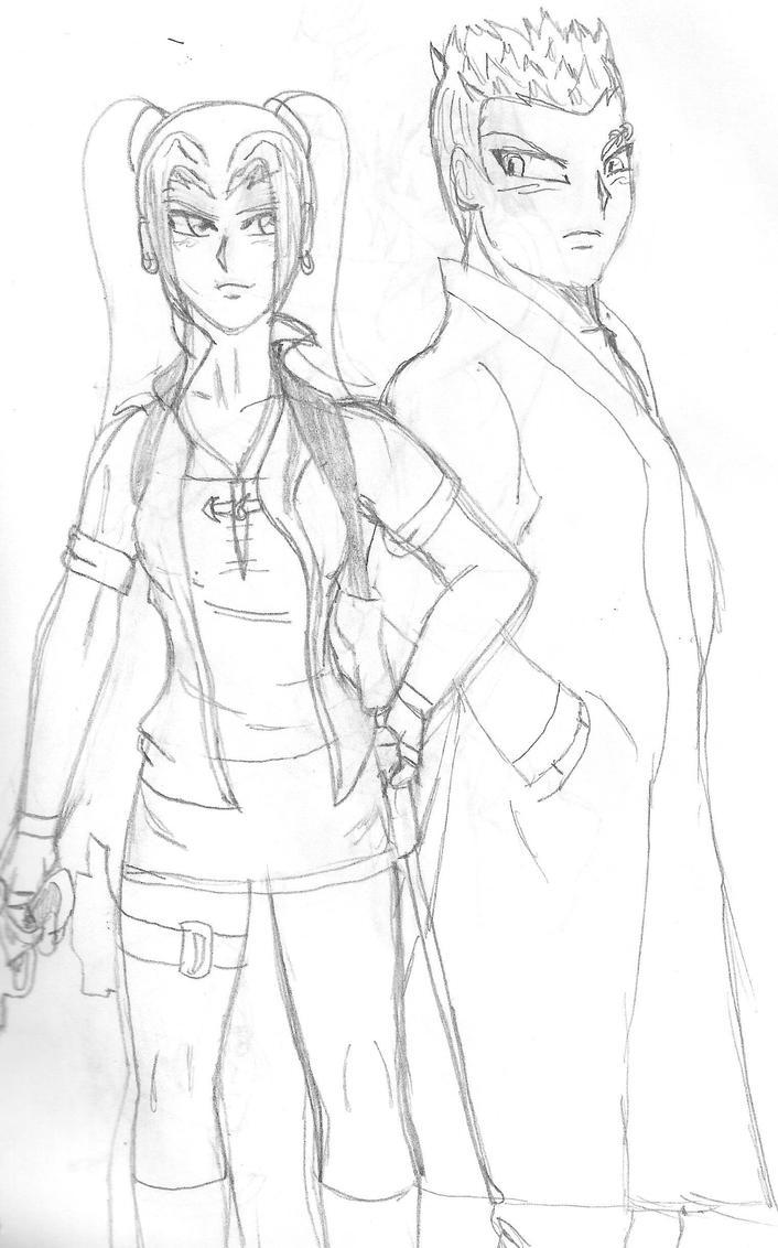 Ridya y Trey by Lein-Eorin
