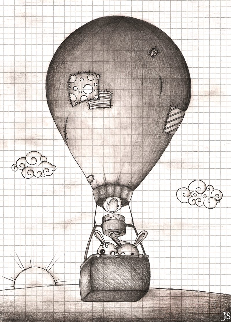 Hot Air Balloon by jerichoskyes on DeviantArt