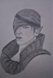 Iorveth Sketch by Mickwerg