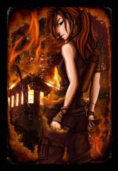 Lara Croft Reborn by JazKittyRocks