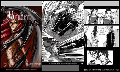 Broken Wings Web-Comic by JazKittyRocks
