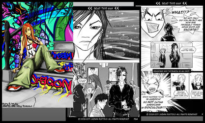 Dream of the Dragon Web-comic by JazKittyRocks