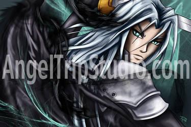 Sephiroth-Final Fantasy VII by JazKittyRocks