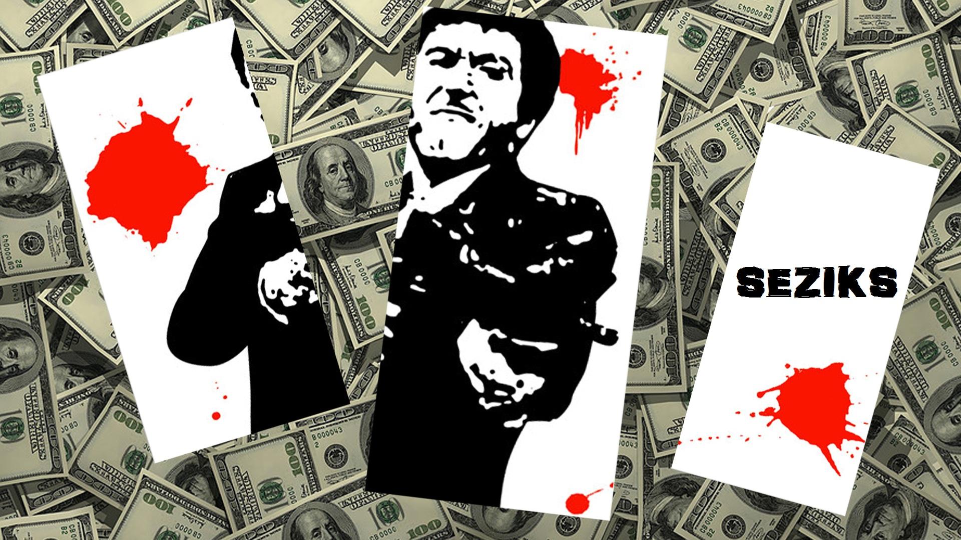 Seziks scarface wallpaper by mrmustachi0 on deviantart - Scarface cartoon wallpaper ...