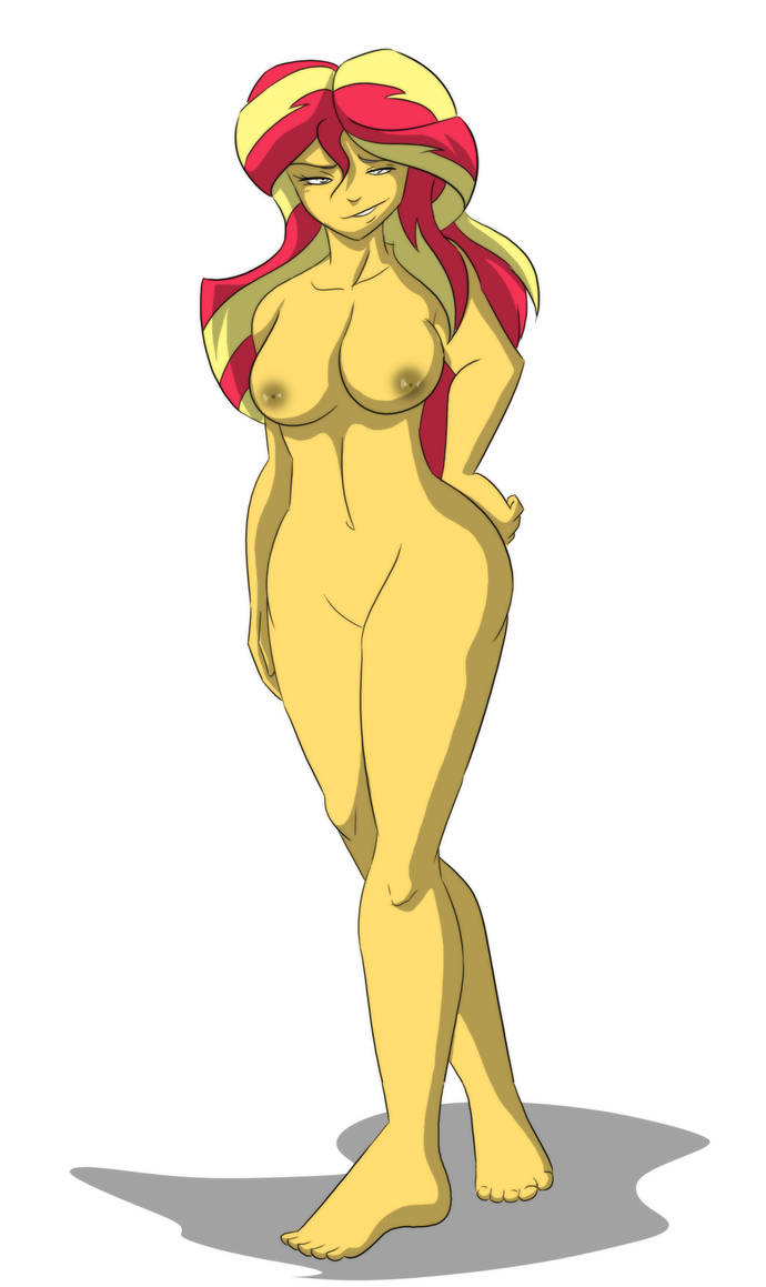 Sunset Shimmer (No Clothes) by Kingdom550
