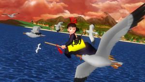 I'm Gonna Fly~ by whitepaopu