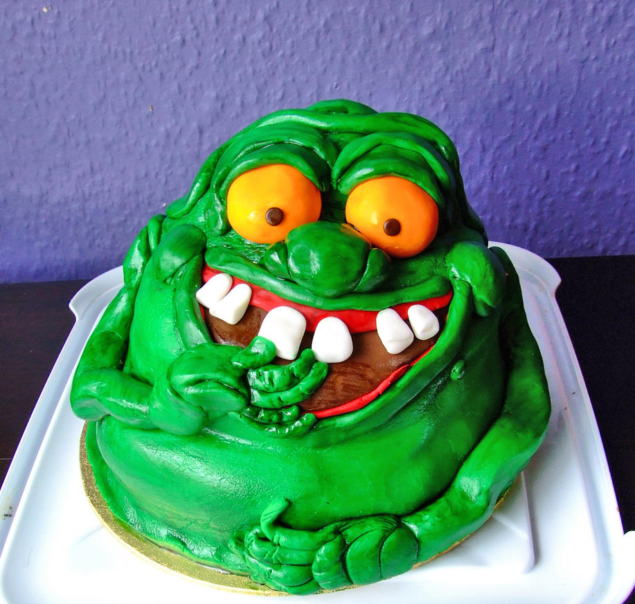 Ghostbusters Th Birthday Cake
