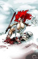 Red Sonja by O-mac