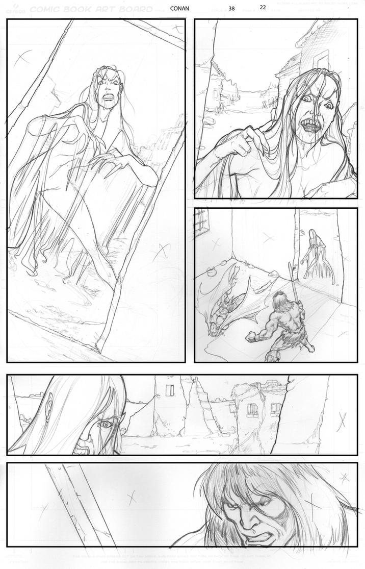 Conan Issue 38 page 22 by O-mac