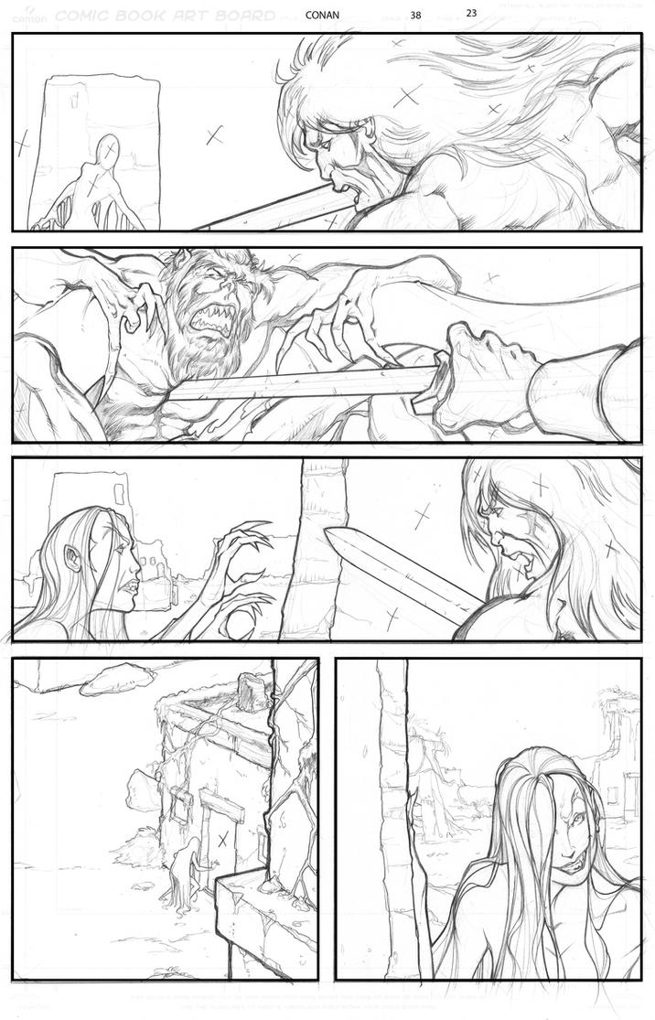Conan issue 38 page 23 by O-mac