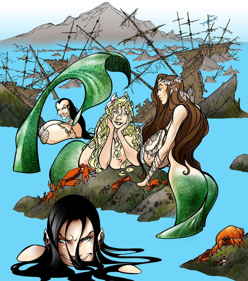 Mermaids by O-mac