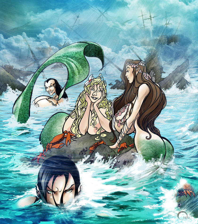 Mermaid by O-mac