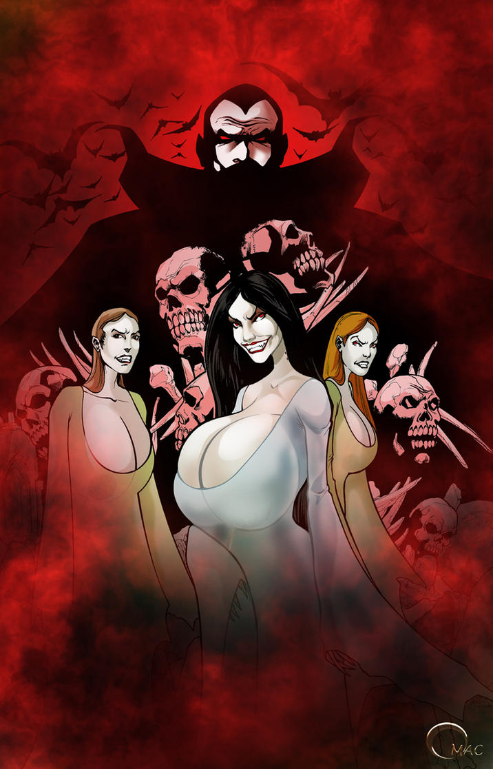 Dracula's Brides by O-mac