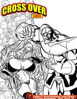 Thanos and Lady Death by O-mac