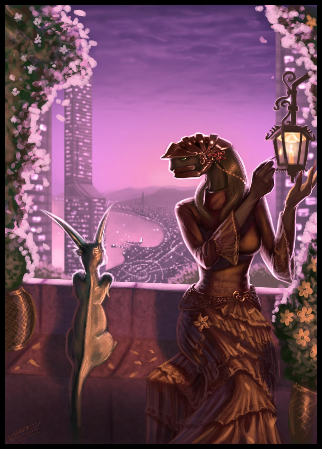 Dema-Danub and Dajam city by Jadeitor