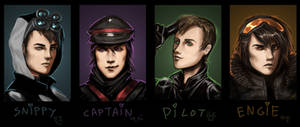 RA - Speed-painting Portraits by Jadeitor