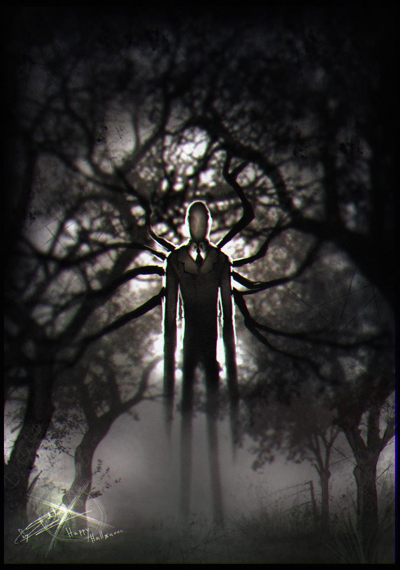 Halloween 2012 - Slenderman by Jadeitor