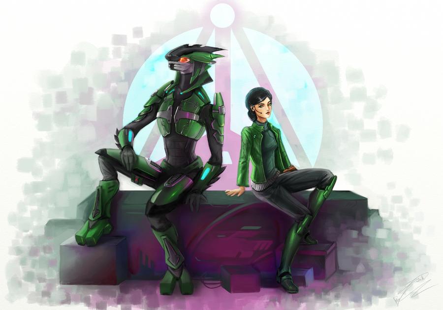 Halo - Naki by Jadeitor
