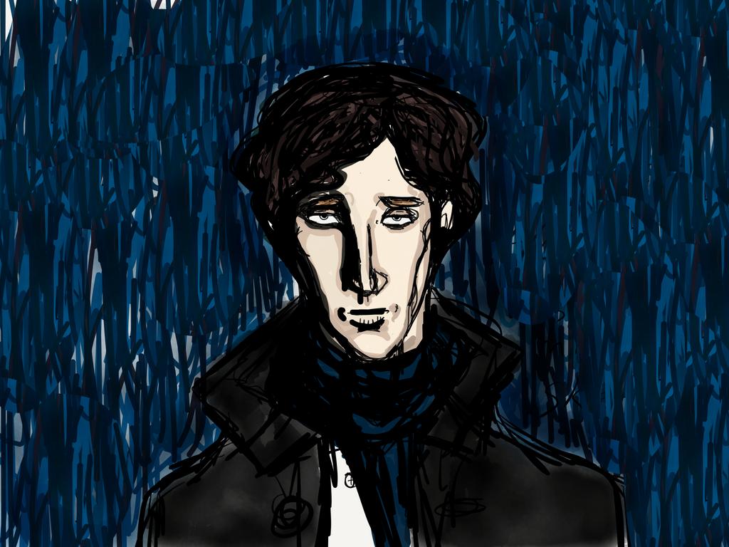 Sherlock Holmes by MartinQuin