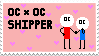 OCxOC stamp by TOKISH
