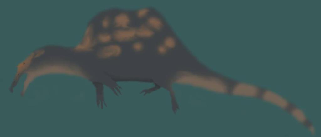 Spinosaurus W.I.P. by SpinoSushi