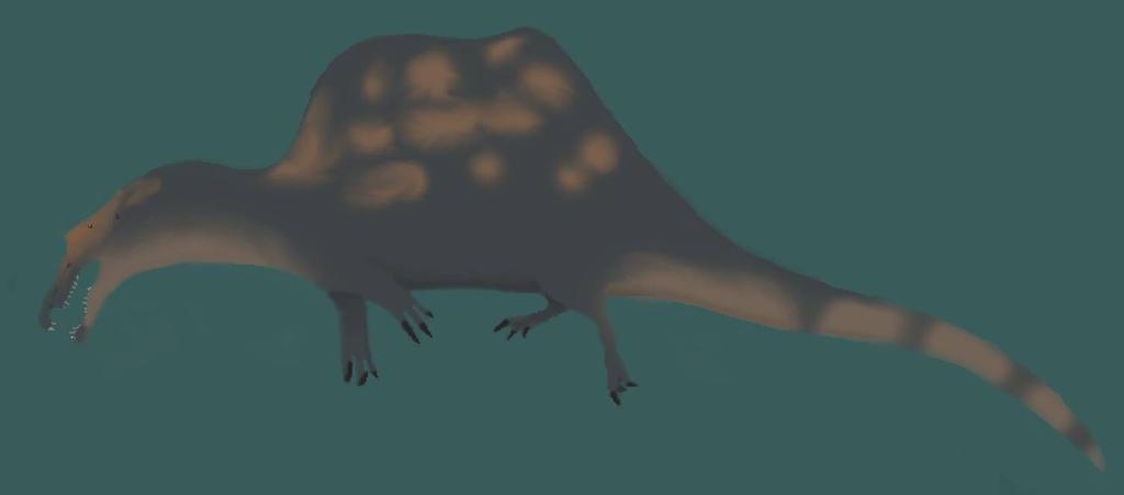 Spinosaurus by SpinoSushi