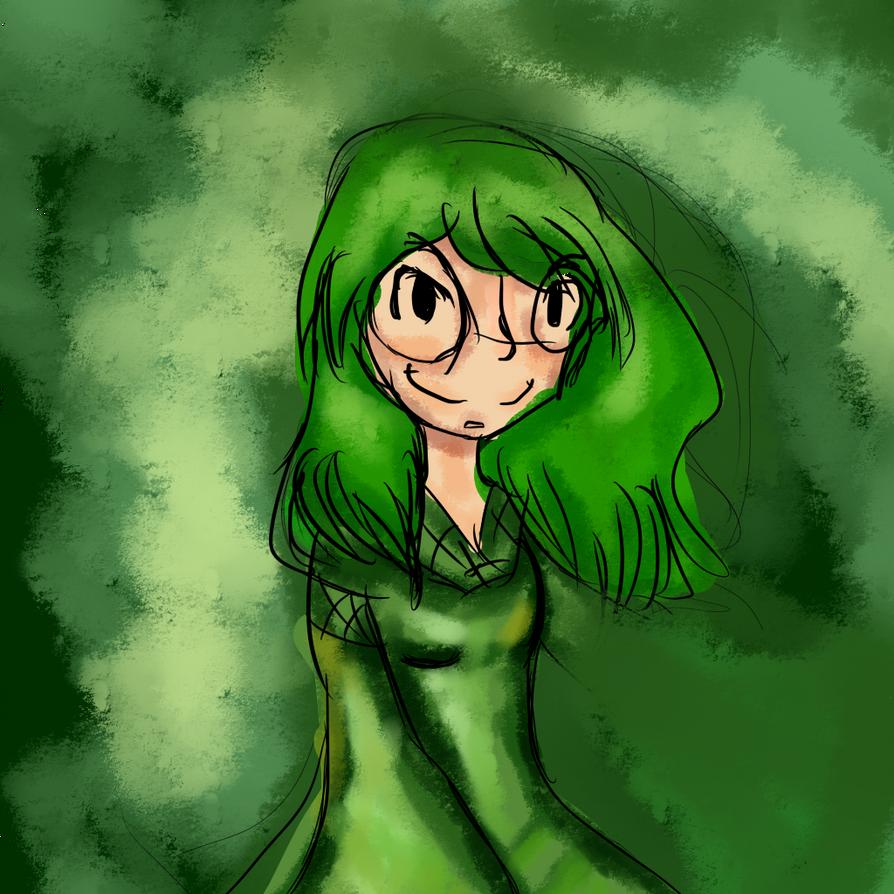 Green witch by YamitheTrixter