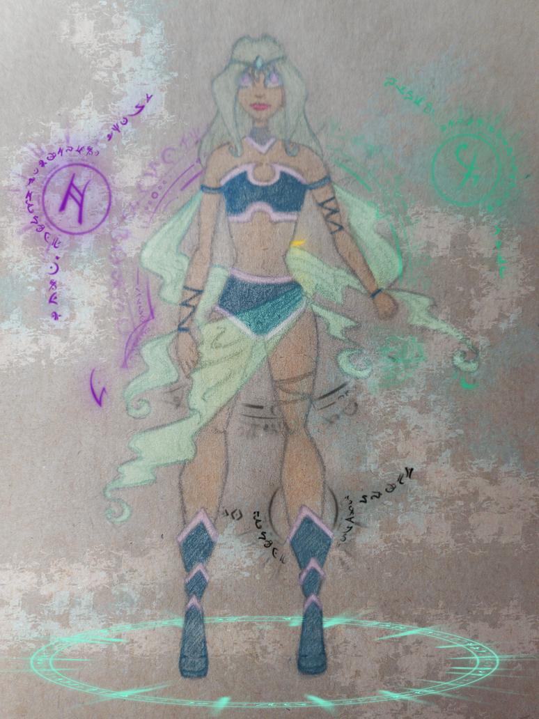 Mitta disenchantix by Caterinna
