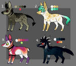 Canine Adoptables (1 Left- Price lowered!)