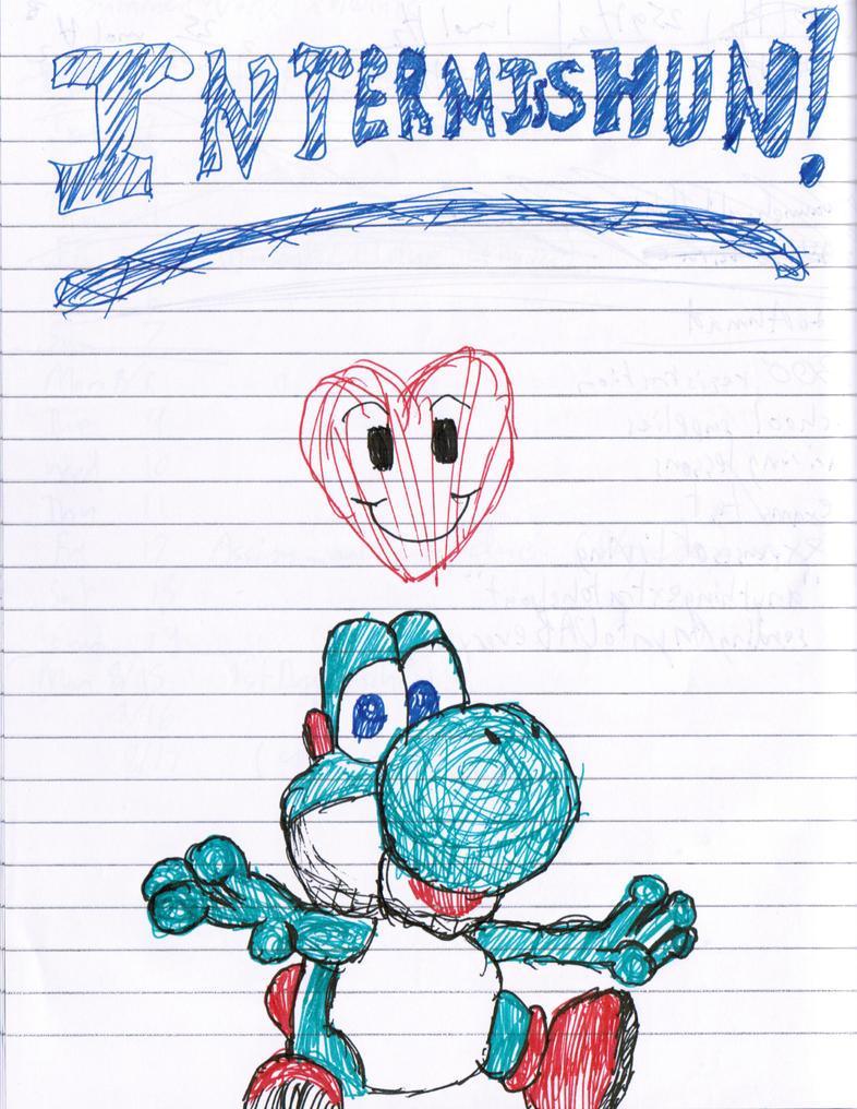 Yoshi Doodle by master-mind777
