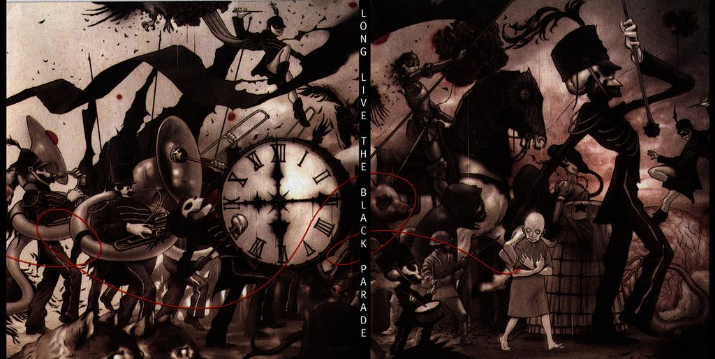 Альбом the black parade