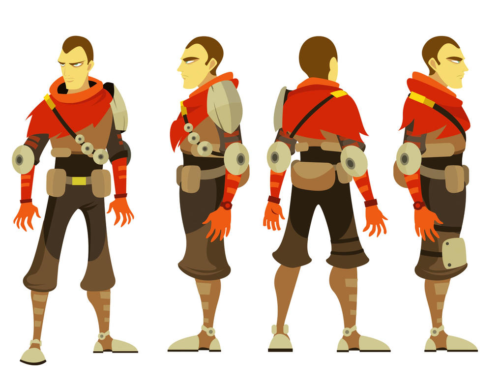 2d Character Design In Illustrator : Soldier character design by alexisvivallo on deviantart