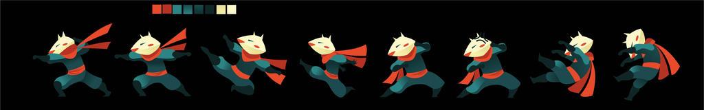 Kitsune mask by Alexisvivallo