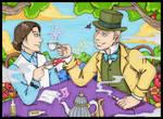 Commission: Daniel in Wonderland