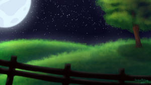 The Night - Anime Background