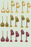 Tassled Lamps
